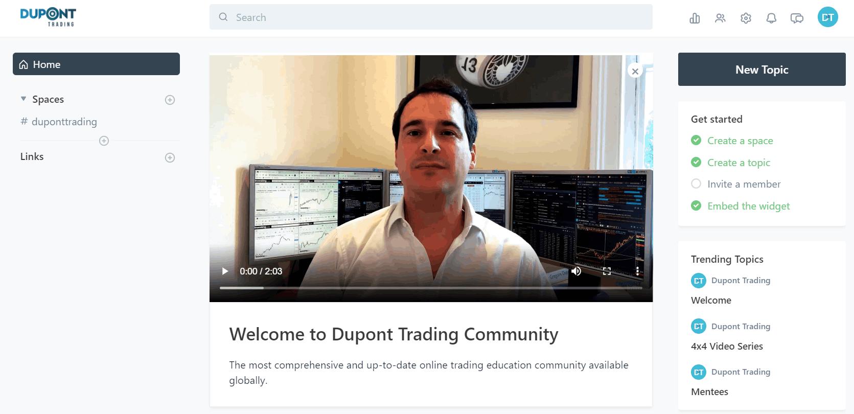 Dupont Trading Community